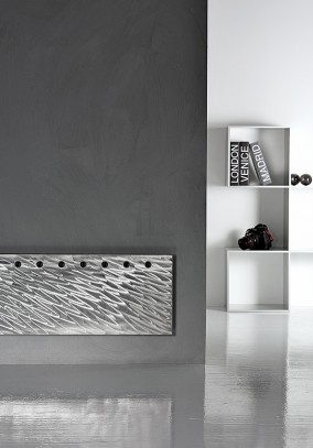polished finish flat radiator