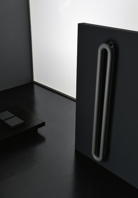 black contemporary radiator