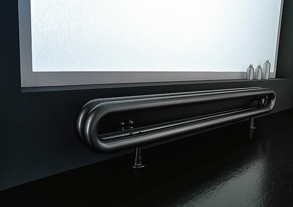contemporary horizontal radiator