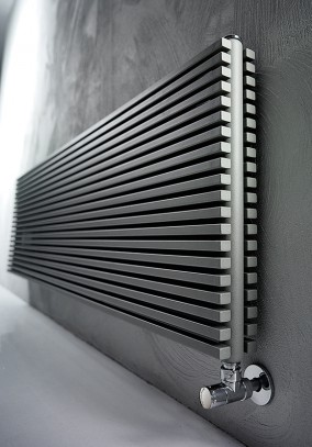 radiator for living room with rectangular tubes