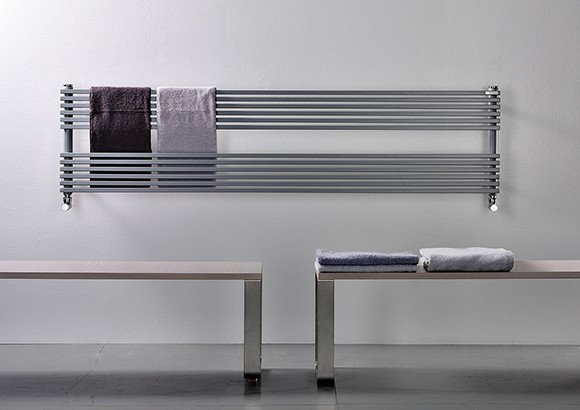 horizontal towel rails