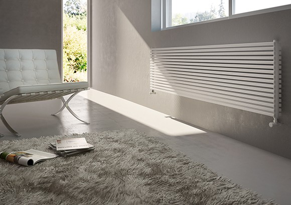 horizontal radiator for living room