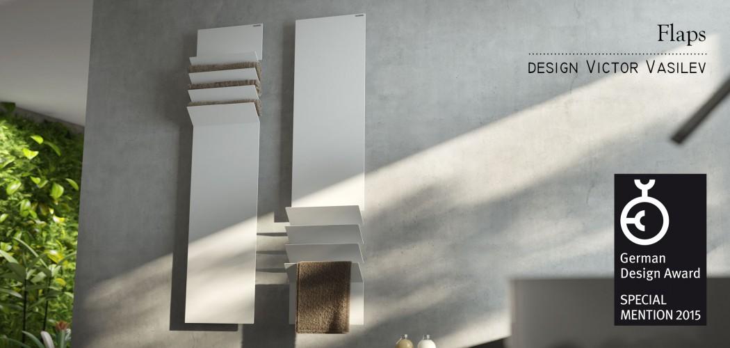 German design award 2015 for Termoarredo salone