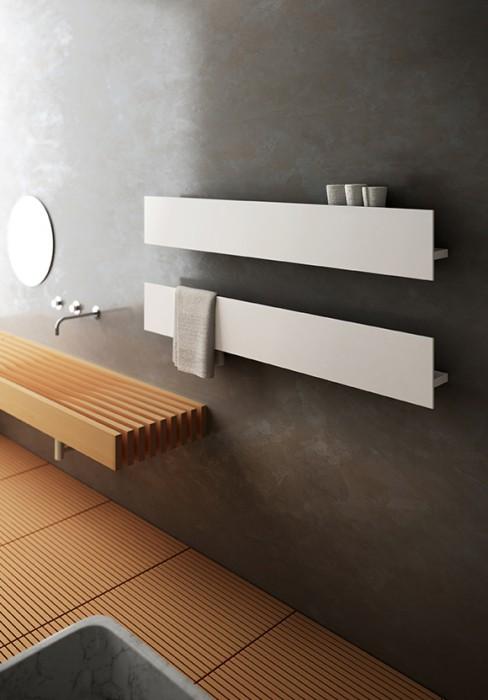 Radiatori elettrici a parete personalizzabili nella lunghezza e nella configurazione estetica for Radiatori elettrici per bagno