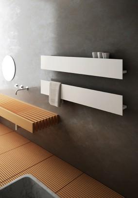 Radiatori elettrici a parete personalizzabili nella lunghezza e nella configurazione estetica - Radiatori elettrici per bagno ...