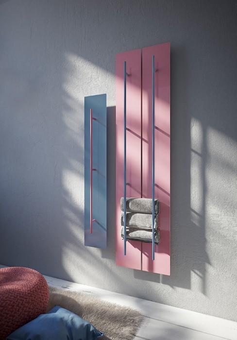 termosifone elettrico a parete con maniglione