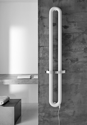 modern electric towel rail