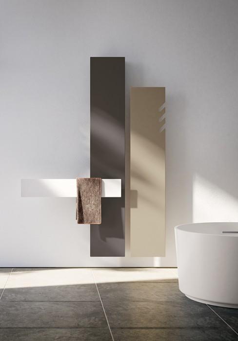 Handtuchheizung Elektrisch Mit Minimalistischem Design