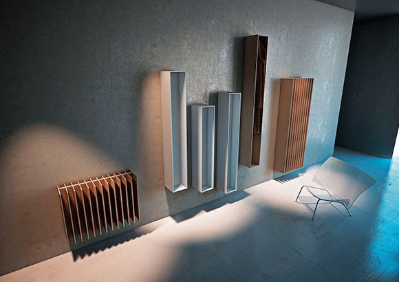 high efficiency radiator with iconic design