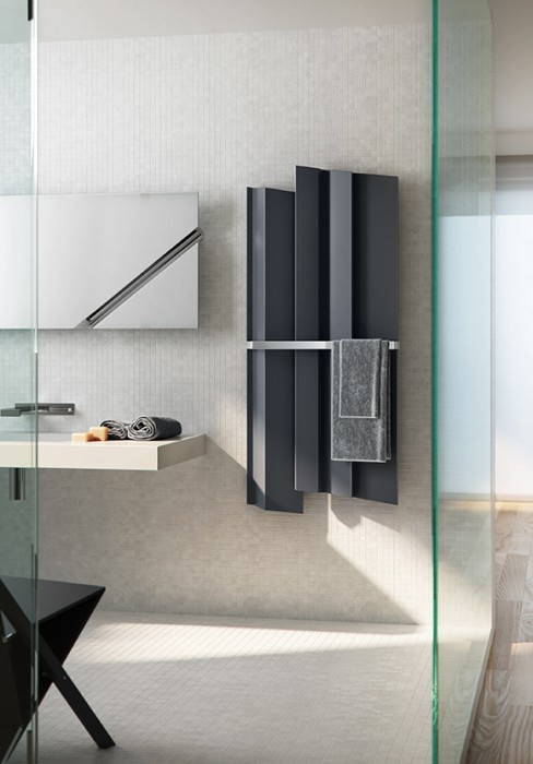 radiateur vertical pour salle de bain