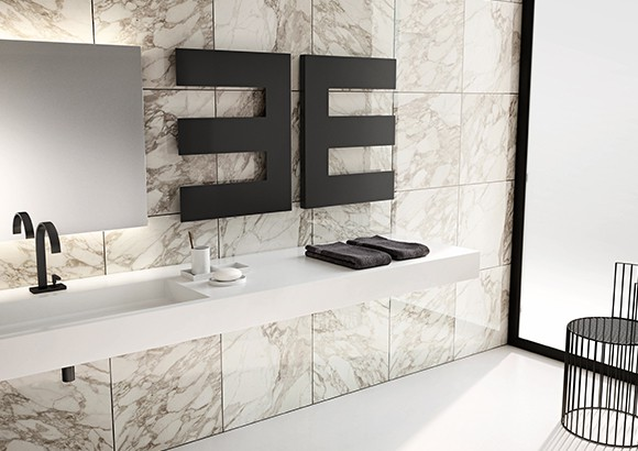 Termoarredo bagno ornamentale e funzionale for Radiatori dwg