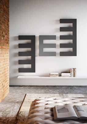 decorative radiators geometric composition