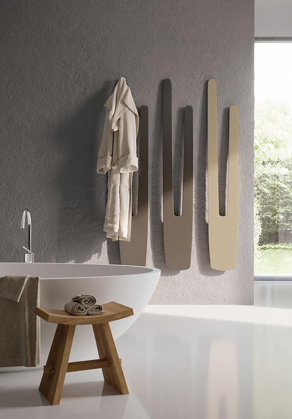 thin vertical radiators for bathroom