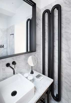 contemporary bathroom radiators