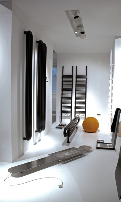 radiators and towel warmer