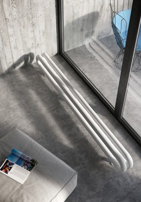 horizontal contemporary radiator
