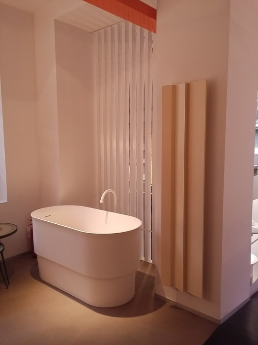 stylish radiator for bathroom