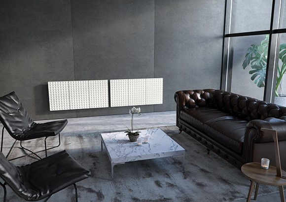 Designer radiators by antrax it for Contemporary radiators for living room