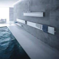 composition of serie t radiators and pool