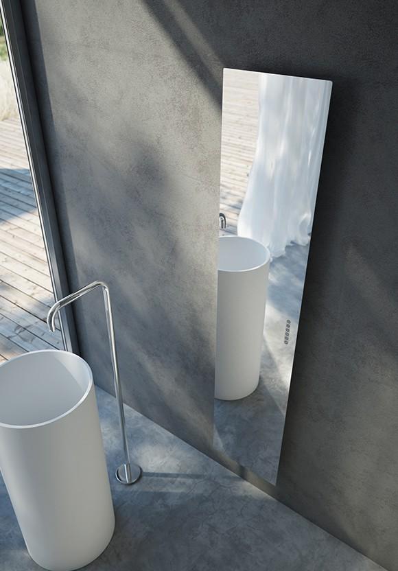 Radiatori e caminetti di design radiatori a risparmio for Termoarredo bagno piccolo